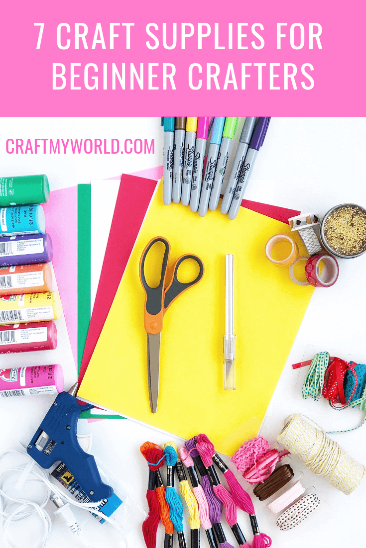 7 Categories Of Craft Supplies For Beginner Crafters