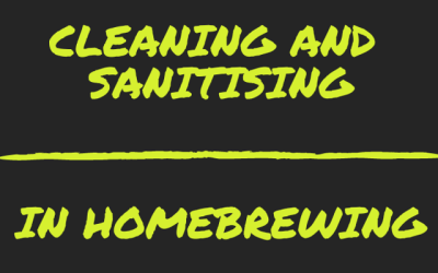 Cleaning and Sanitising in homebrewing