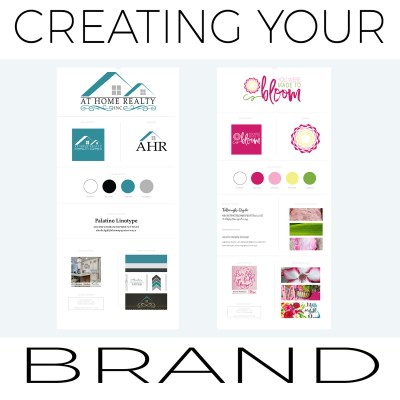 Branding: Brand Boards and Business Materials