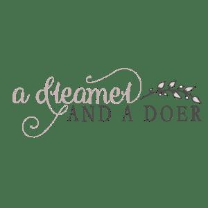 A Dreamer and A Doer Logo - Indiana - Designed by CraftnDraft Inc