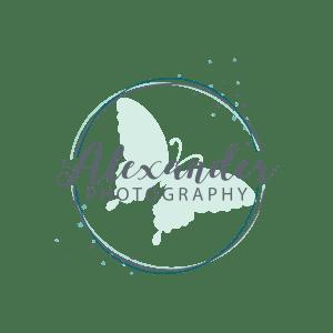 Alexander Photography Logo - Design by CraftnDraft Inc
