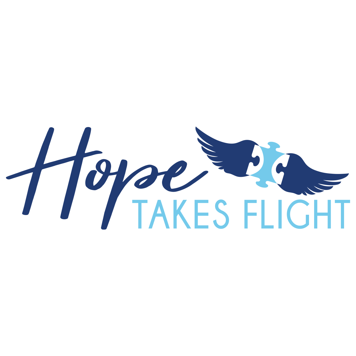 Hope Takes Flight - Williams Community School - Logo - CraftnDraft Inc