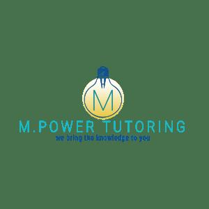 M. Power Tutoring Logo - Designed by CraftnDraft Inc