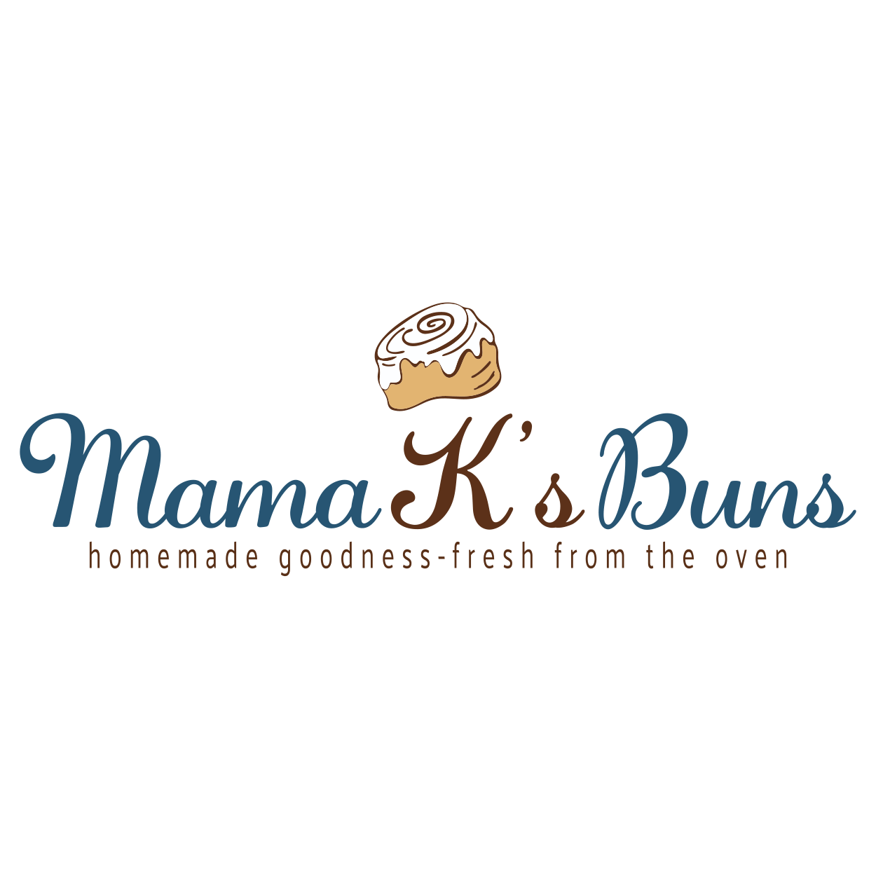 Mama Ks Buns Logo - Pennsylvania - Designed by CraftnDraft Inc