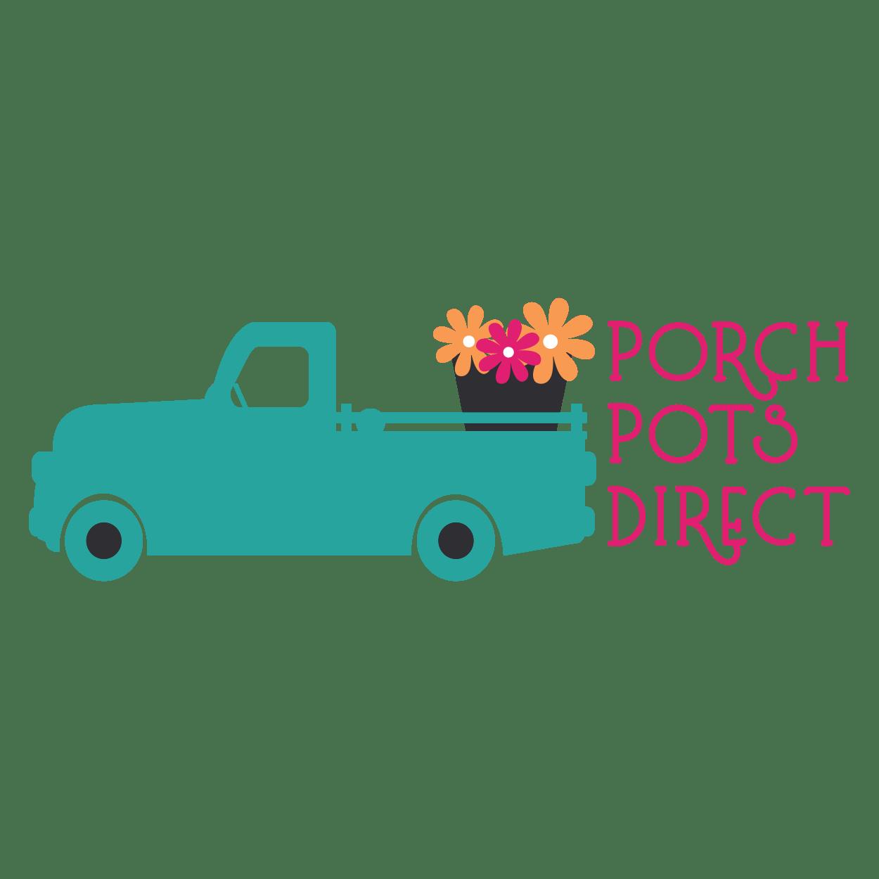 Porch Pots Direct Logo - Indiana - Designed by CraftnDraft Inc