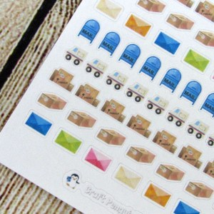 Tiny Mail stickers
