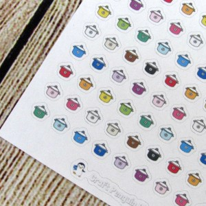 Tiny Slow Cooker stickers
