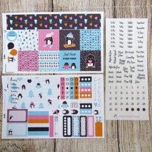 Be More Penguin Weekly, MINI HAPPY PLANNER