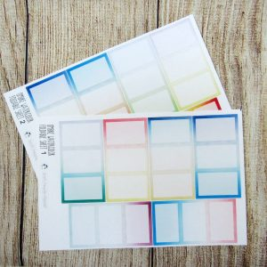 Ombre Watercolor Foldables