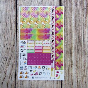 Life's Sweet Fruits Monthly Sticker Set- Customizable, PP WEEKS