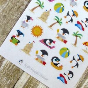 Just Chillin' Deco stickers