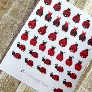 Ladybug Deco stickers