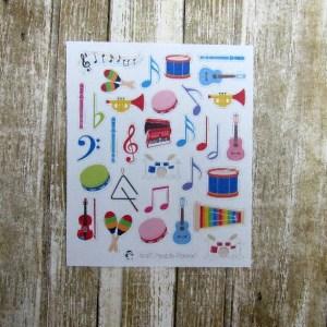 Music Deco Stickers