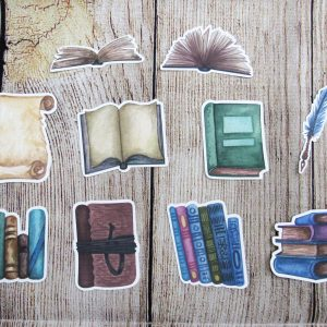 One More Chapter Die Cuts