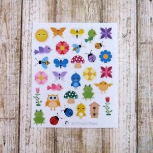 Spring deco stickers