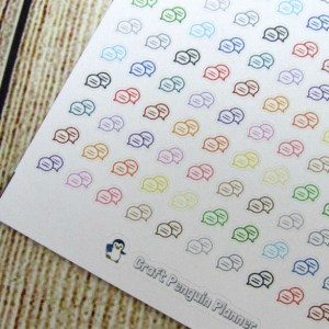 Tiny Chat Bubble stickers