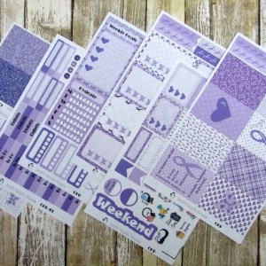 Domestic Violence Awareness Weekly, CLASSIC HAPPY PLANNER