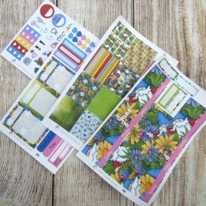 Gnomes Monthly Sticker Set, Choose your month, ERIN CONDREN