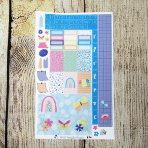 After the Rain Monthly Sticker Set- CUSTOMIZABLE, PENNY WEEKS/ PENNICHI