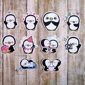 Penguin Character Die Cuts