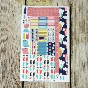 Summer Fun Monthly Sticker Set- CUSTOMIZABLE, PENNY WEEKS/ PENNICHI