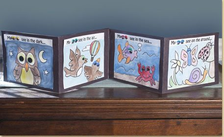 Wiggly Eye Accordion Book Craft Project Ideas