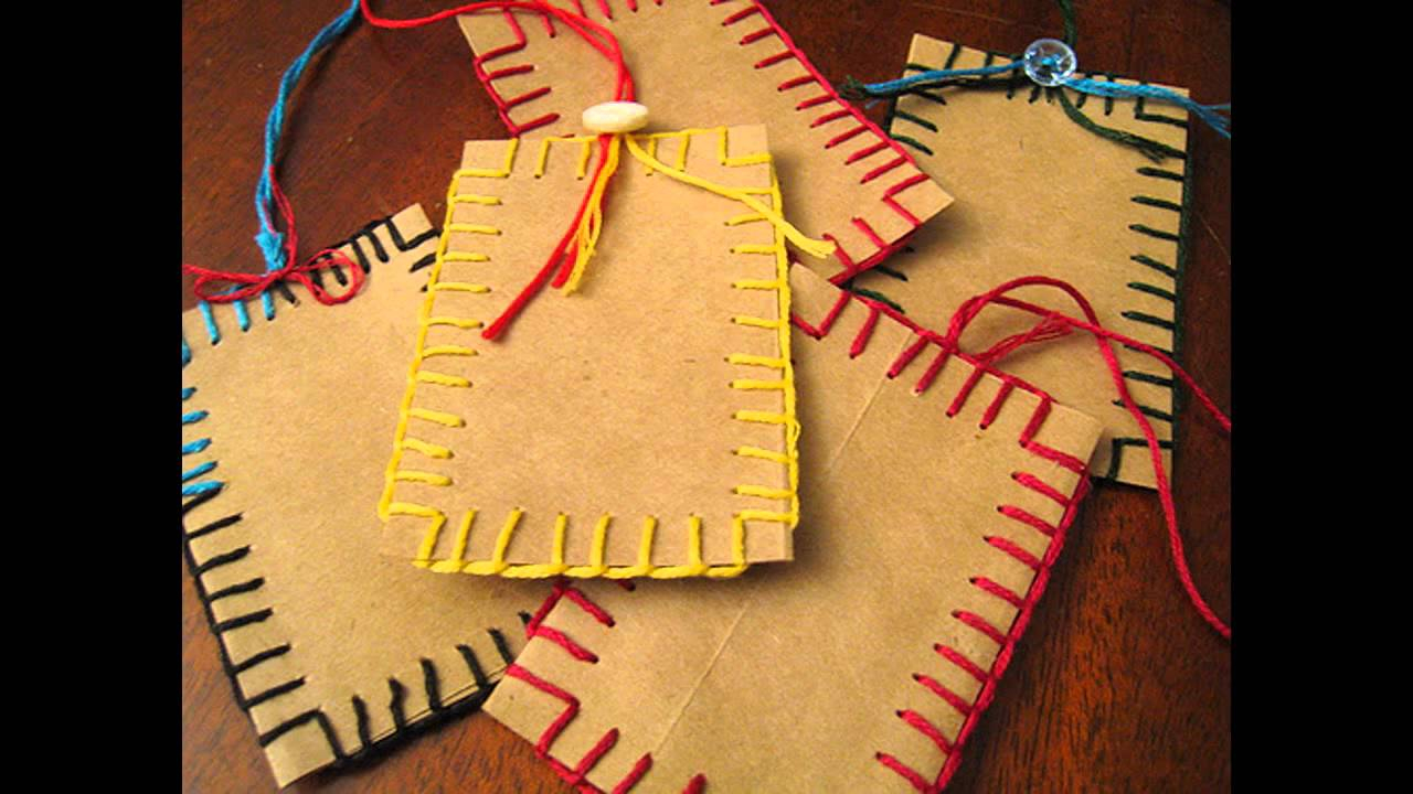 3 Designs of Cute Crafts Using Paper Bags Brown Paper Bag Crafts Ideas Home Art Design Decorations Youtube