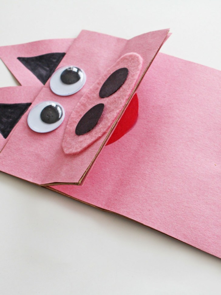 3 Designs of Cute Crafts Using Paper Bags