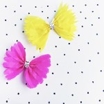 3 Easy Designs Of Crafts Out Otissue Paper Tissue Paper Butterfly Craft Imperfect Mommyhood