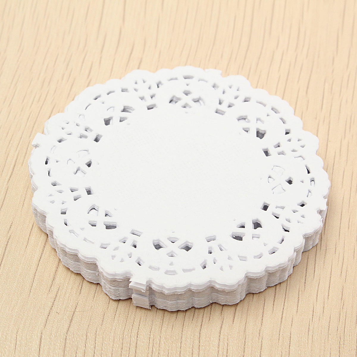 3 Pretty Designs of Craft Paper Doilies 180pcs 35 White Paper Lace Round Doilies Wedding Party Craft