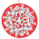 3 Pretty Designs Of Craft Paper Doilies Hanging Snowflake Christmas Doilies Christmas Cleverpatch Art