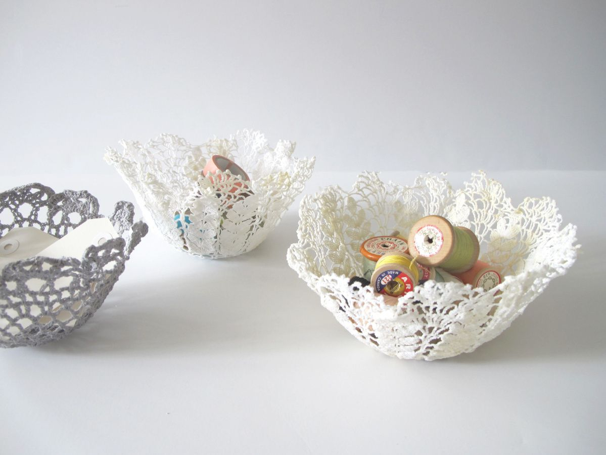 3 Pretty Designs of Craft Paper Doilies How To Make Lace Doily Bowls And 5 Places To Buy Them The Star
