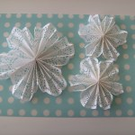 3 Pretty Designs Of Craft Paper Doilies Rosie Posies Creations Christmas Craft Doily Snowflakes