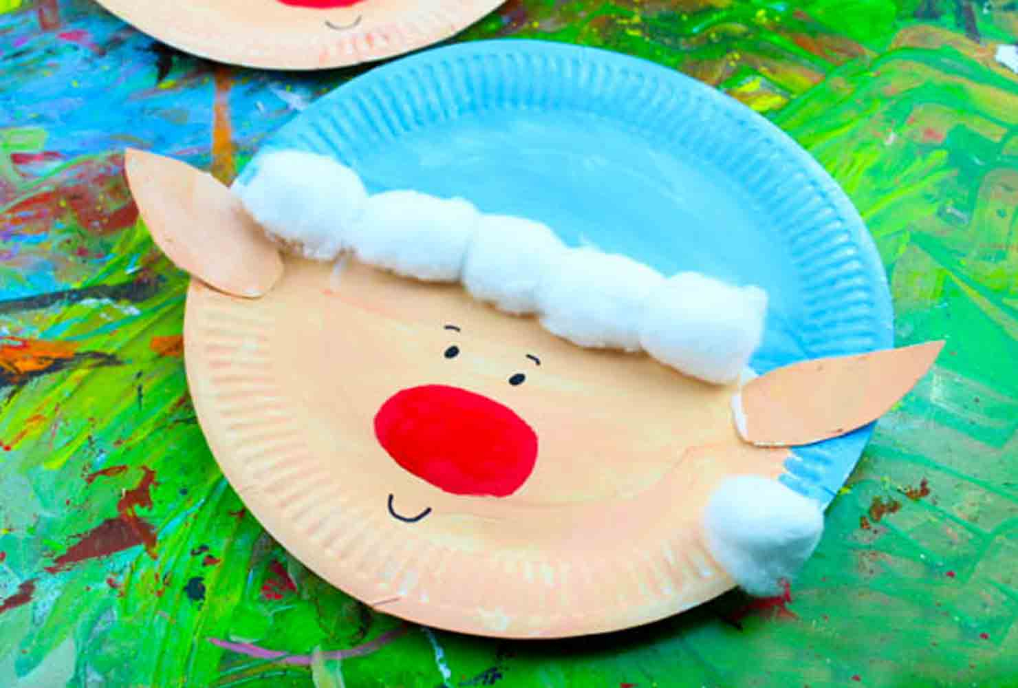 3 Unique Designs of Paper Plate Santa Craft Christmas Ideas With Paper Plates The Imagine Christmas Decorations