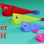 3D Paper Crafts For Kids Paper Crafts For Kids Easy Paper Fish Crafts Diy Tutorial Youtube