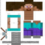 Amazing Paper Craft Minecraft Blocks Minecraft Papercraft Blocks Paper Crafts For Minecraft Print