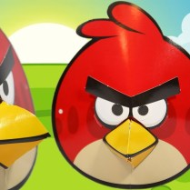 Angry Bird Paper Plate Craft Angry Birds Red Mask Paper Craft Maska Angry Birds Challenge