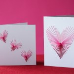 Awesome Valentine Construction Paper Crafts Diy This Embroidered Heart Valentines Day Card