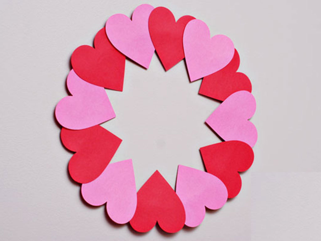 Awesome valentine construction paper crafts Easy Valentines Day Crafts That Even Kids Can Make
