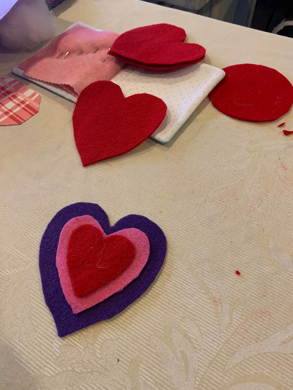 Awesome valentine construction paper crafts Make A Valentine Ornament Or Pincushion Yarn Scissors Silk