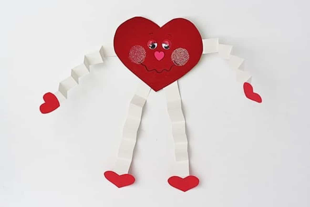 Awesome valentine construction paper crafts Valentine Crafts For Kids 25 Easy Art And Craft Projects For All Ages