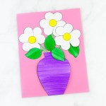 Craft Flower Paper Easy And Fun Paper Flower Bouquet Craft Fireflies And Mud Pies