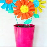 Craft Flower Paper How To Make Paper Flowers For Kids With Toilet Paper Rolls