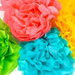 Craft Flower Paper How To Make Tissue Paper Flowers Four Ways Hey Lets Make Stuff