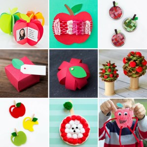 Crafts With Paper For Kids Simple And Fun Apple Crafts For Kids
