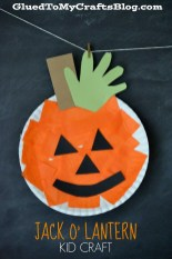 Crafts With Paper Plates For Preschoolers Paper Plate Pumpkin Kid Craft Family Fun Activitieskid Craft
