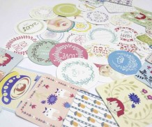 Crafts With Scrapbook Paper 38 Pcsbag Diy Cute Lovely Scrapbook Paper Stickers Crafts Cake