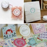 Crafts With Scrapbook Paper Bag Cute Lovely Diy Scrapbook Paper Stickers Crafts Cake Suger Box