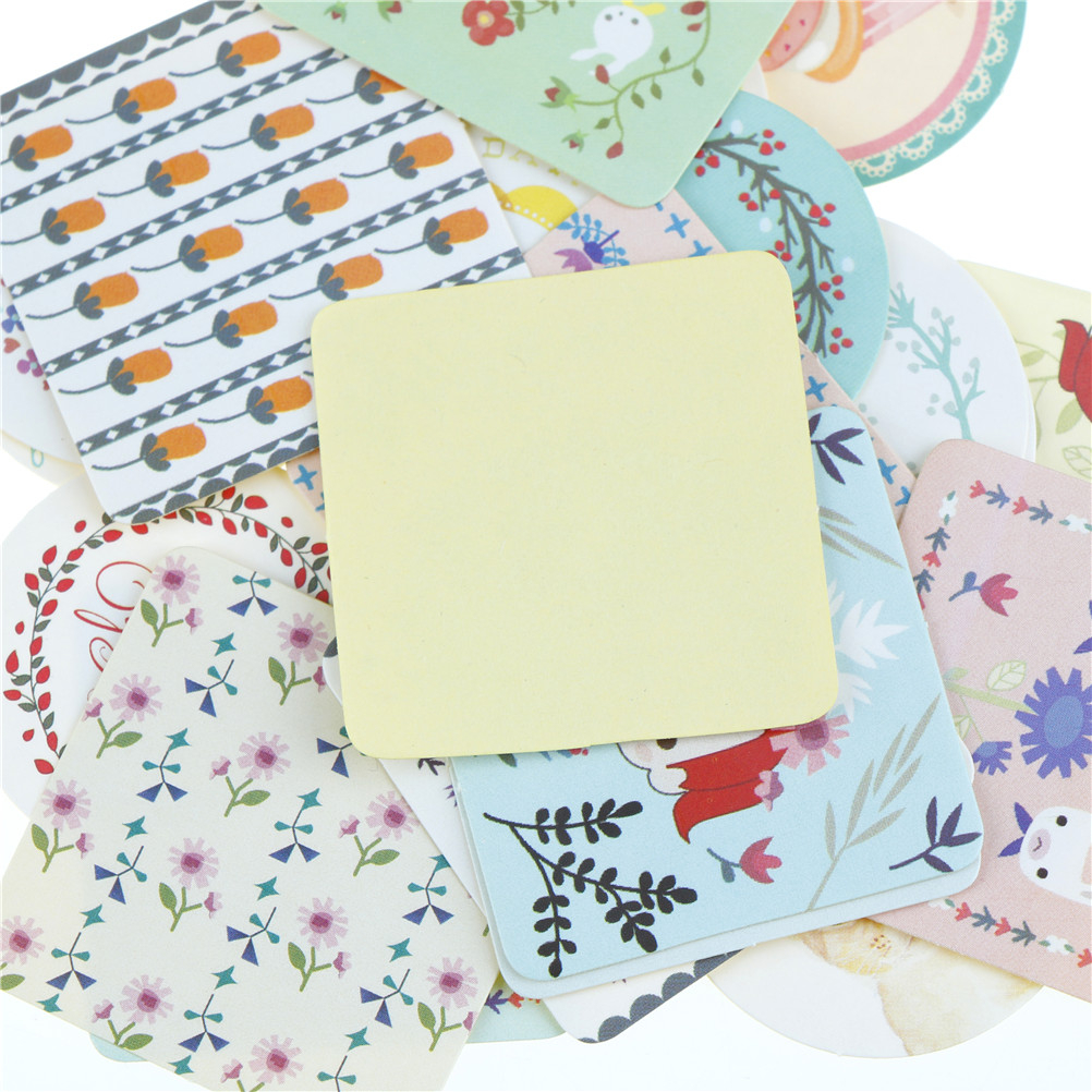 Crafts With Scrapbook Paper New 38 Pcsbag Diy Cute Lovely Scrapbook Paper Stickers Crafts Cake
