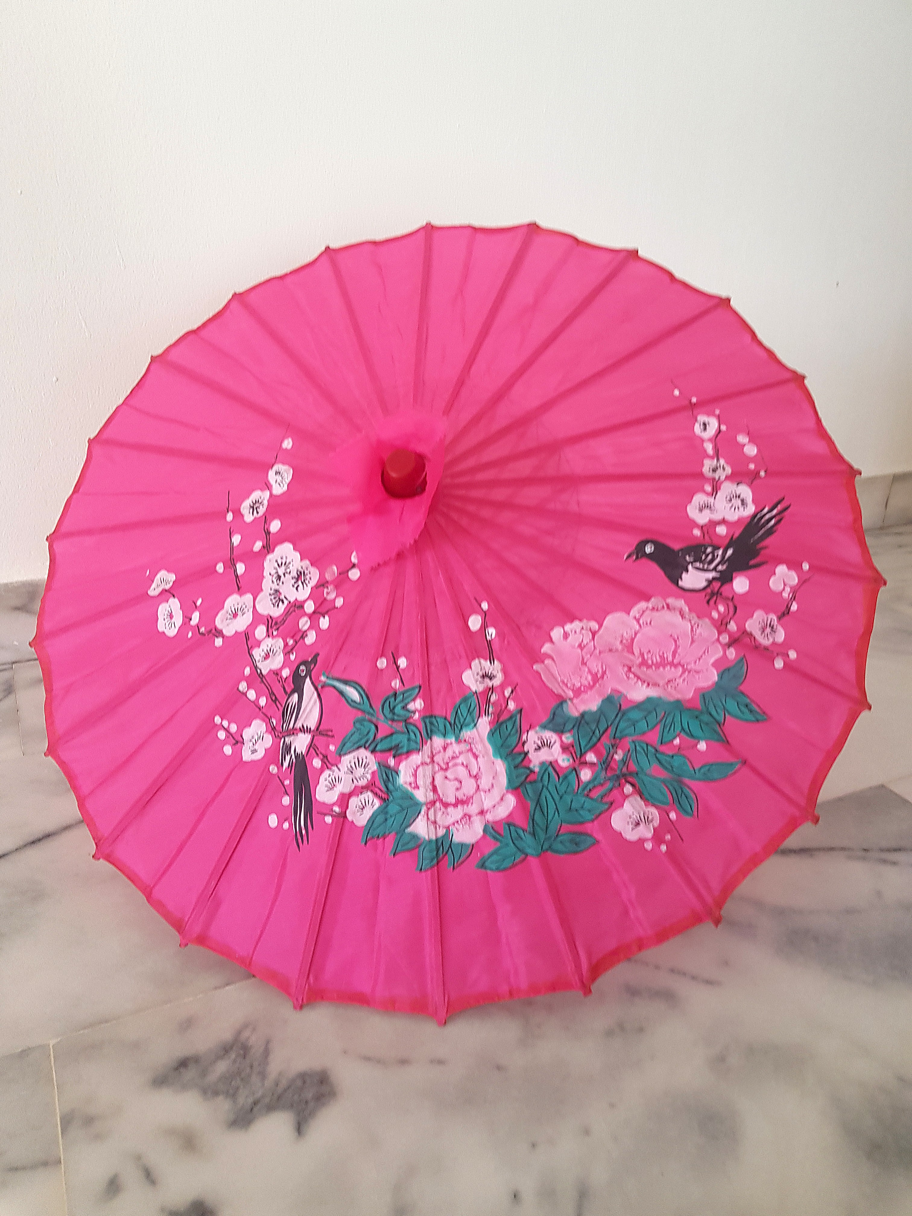 Create paper umbrella craft for party glass decor Small Paper Umbrella Design Craft Others On Carousell